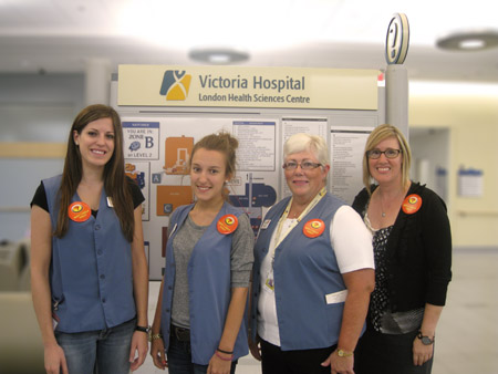 Volunteers at VH