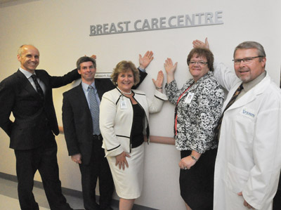 Opening of Breast Care Centre