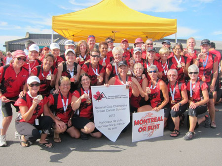Rowbust Dragonboat team