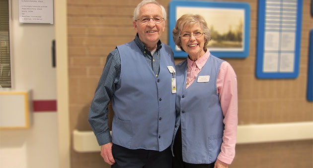 Don and Sandra Allaire, Volunteer Guides at LHSC