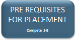 Pre Requisites for Placement