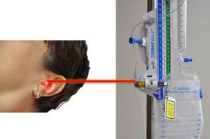 Measurement Of Intracranial Pressure Using Fluid Filled