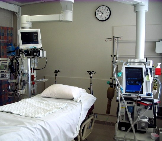 Patient Bed and Equipment