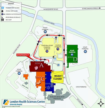 UH Construction Map