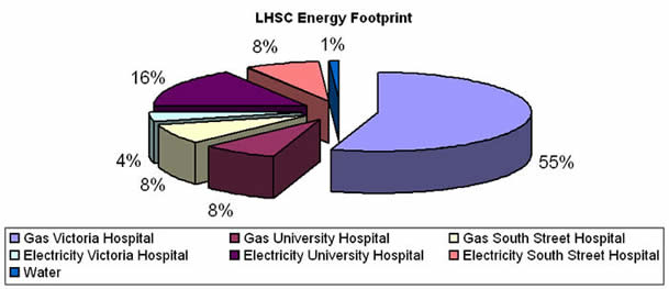 LHSC Energy Footprint 2005