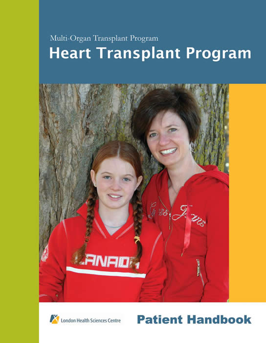 cover of Heart Transplant Booklet