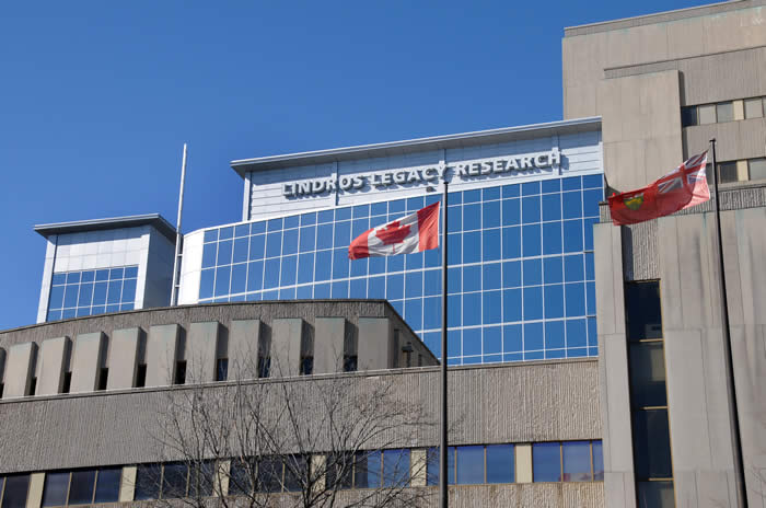 Lindros Legacy Research building