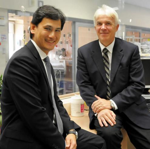 Dr. Patrick Luke and Dr. Anthony Jevnikar