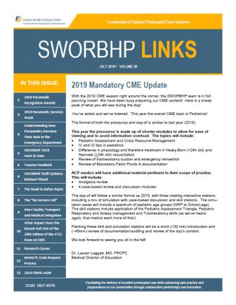SWORBHP Newsletter