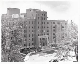 Historical photo of South Street Hospital