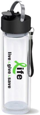 sample of new merchandise, water bottle