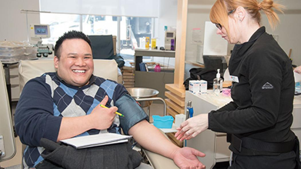 The need for blood does not take a holiday | LHSC